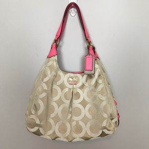 Coach Madison Op Art Maggie Sateen 21125